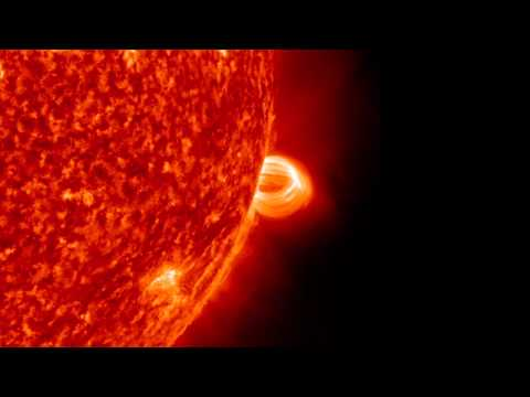 NASA | AR1520's Parting Shot - July 19 M7.7 Flare