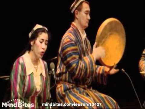 Uzbekistan Music with Monâjât Yultchieva - Concert