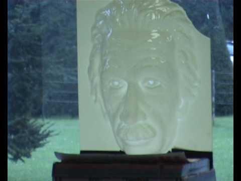 spooky Einstein face