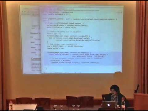 NIPS 2011 Big Learning - Algorithms, Systems, & Tools Workshop: Graphlab 2 Tutorial
