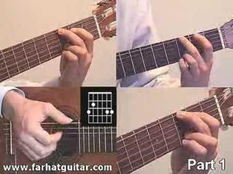 Yesterday - The Beatles Guitar Lesson Full Song www.farhatguitar.com