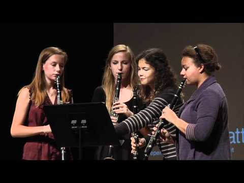 TEDxManhattanBeach - Mira Costa High School Clarinet Quartet