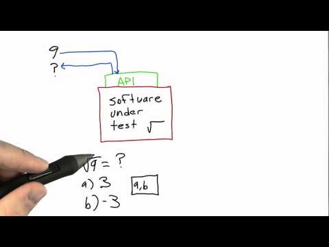 Specifications Solution  - Software Testing - Udacity
