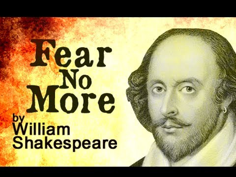 Pearls Of Wisdom - Fear No More by William Shakespeare (Poetry Reading)