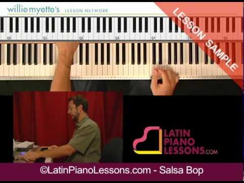 Salsa Bop - Latin Piano Lessons - Piano Montunos