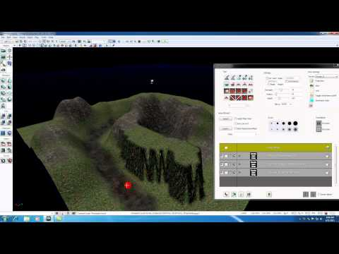 Unreal Development Kit UDK Tutorial - 38 - Terrain Tools