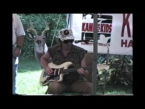 Rusty Johnson Chilling with Ted Nugent part 1