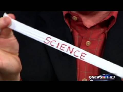 Teflon Tape Secret Message - Cool Science Experiment