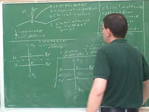 Organic chemistry: Stereochemistry (3)