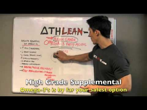 Supplements Review Part 3 - High Grade OMEGA-3s (Muscle Recovery Monster!)