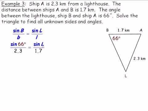 The Sine Law (Grade 10) Part 2.avi