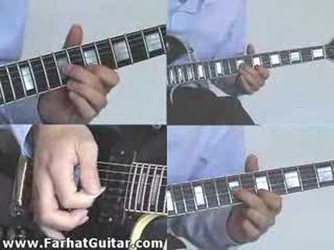 sweet child of mine guns solo 3 www.FarhatGuitar.com