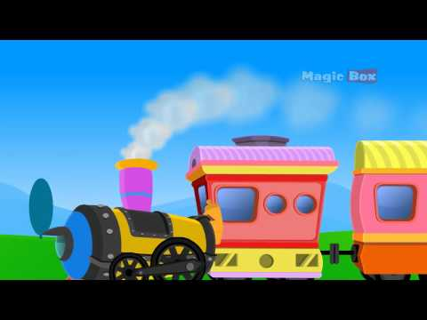 TRAIN - MALAYALAM CARTOON NURSERY RHYMES - KINGINI CHELLAM