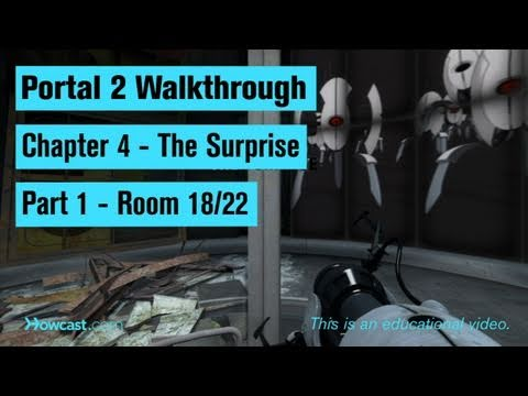 Portal 2 Walkthrough / Chapter 4 - Part 1: Room 18/22