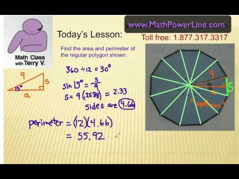 Viewer Challenge: Area & Perimeter of a Dodecagon