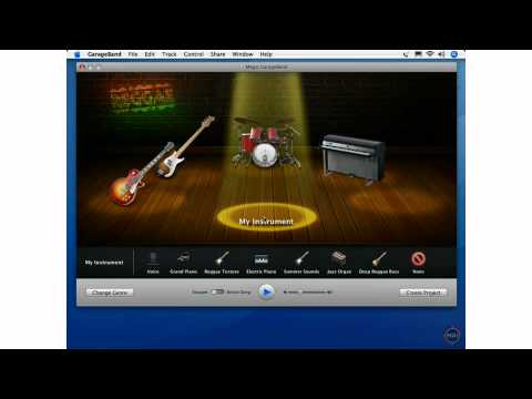 What's New in GarageBand 08 - Magic GarageBand
