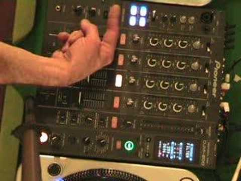 Tutorial/ demonstration on the filter efect on a DJ mixer