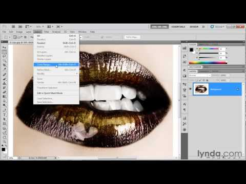 Photoshop: How to enhance an image's color | lynda.com tutorial