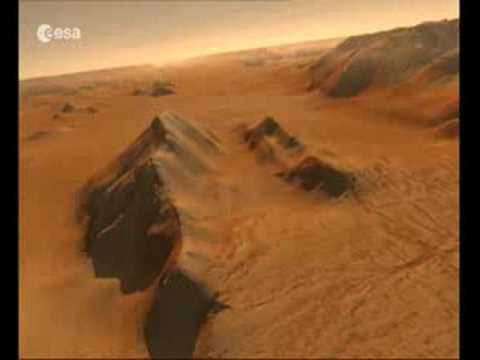 Traces of Martian life: Valles Marineris