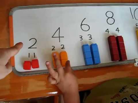 Preschool - Math. addition sample
