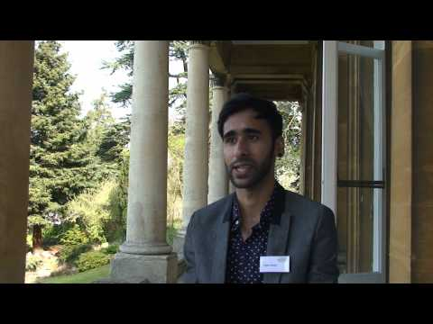 Rajeev Rahela at the Undergraduate Research Conference