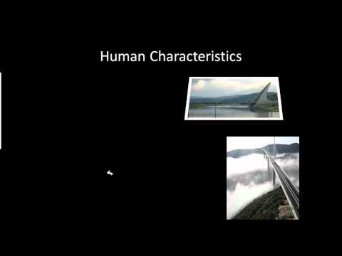 Place and Human Characteristics