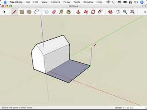 SketchUp: Using inferences to help you model