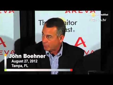 Speaker Boehner Calls for Shorter Party Conventions