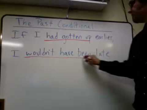 The Past Conditional