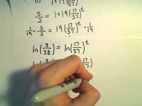 The Logistic Equation and Models for Population - Example 1, part 2
