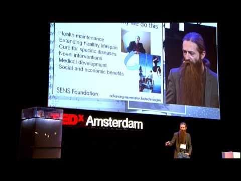 TEDxAmsterdam 2010 - Aubrey de Grey - 11/30/10