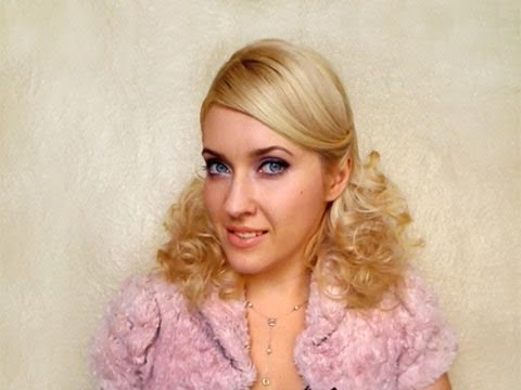 Retro party hairstyles for long hair Elegant vintage curls overnight without heat winter spring 2012