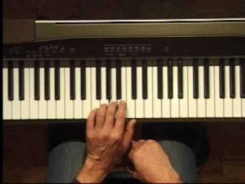 Piano Lesson - Hanon Finger Exercise for the Left Hand