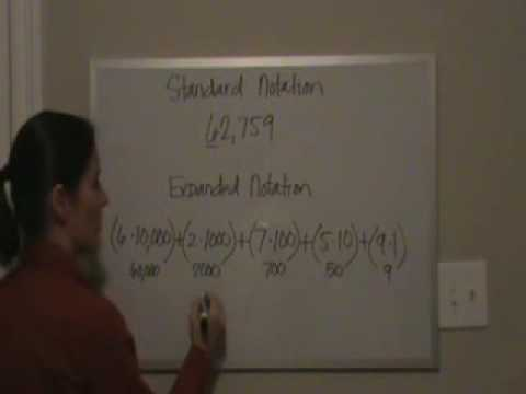 Standard and Expanded Notation