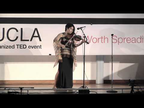 TEDxUCLA - Alma Cielo - Improvisational Violin Performance and Thoughts on the Theme.mov