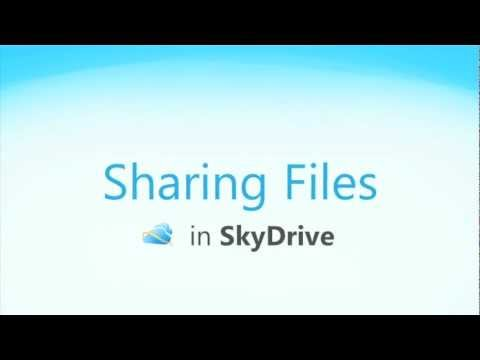 Office Web Apps: Sharing Files