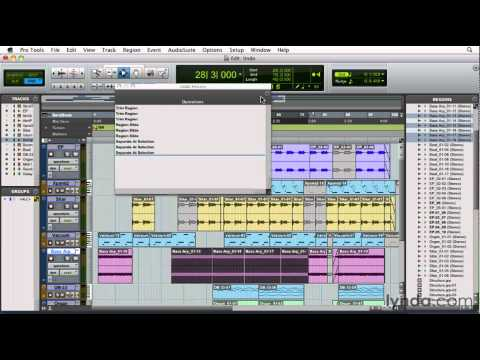 Pro Tools: How to undo audio edits | lynda.com tutorial