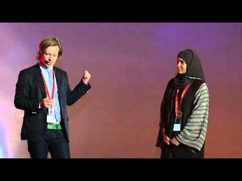 TEDxArabia 2011 Maryam Bilal & Stephen Stapleton - Edge Of Arabia
