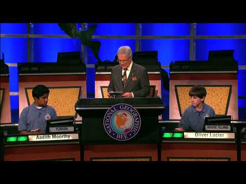 National Geographic Bee 2010 - GeoBee 2010: Winning Question