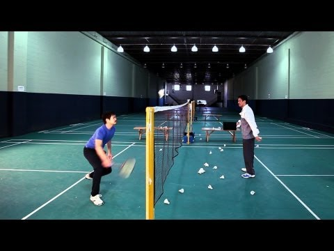 Training Drills | How to Play Badminton