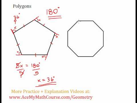 Polygons - Sum of Exterior Angles