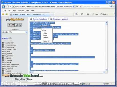 Wordpress: 41. Uploading files and adjusting