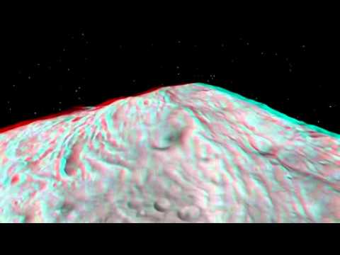 Soar Over Asteroid Vesta in 3 D