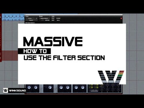 Native Instruments Massive: How To Use The Filter Section | WinkSound