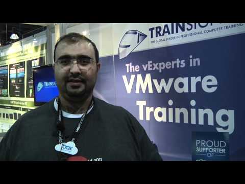 Where in the World is TrainSignal Contest Winner Ashraf at VMworld 2011