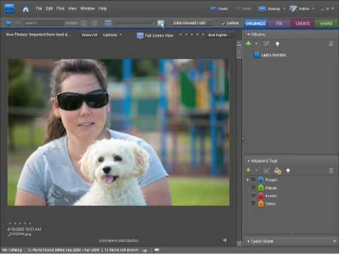 Photoshop Elements 7 Tutorial Video - Viewing Photographs