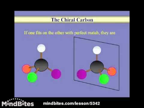 Organic Chemistry Lesson: Stereochemistry 1