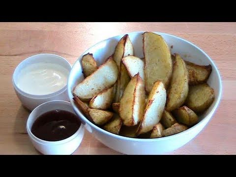 Oven Baked Spicy Potato Wedges - RECIPE