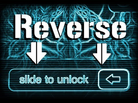 Reverse Slide to Unlock Bar Cydia Tweak for iPhone, iPod Touch & iPad