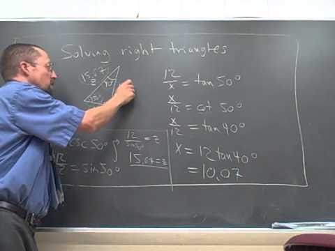 solving-right-triangle